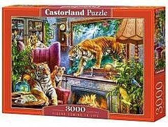 Puzzle Castor 3000 - Tygrysy wracają do życia, Tigers Comming to Life
