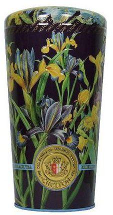 Chelton wazon z irysami, herbata liściasta puszka 150g