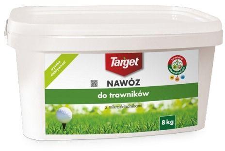 Nawóz do trawnika  z mikroelementami  8 kg target
