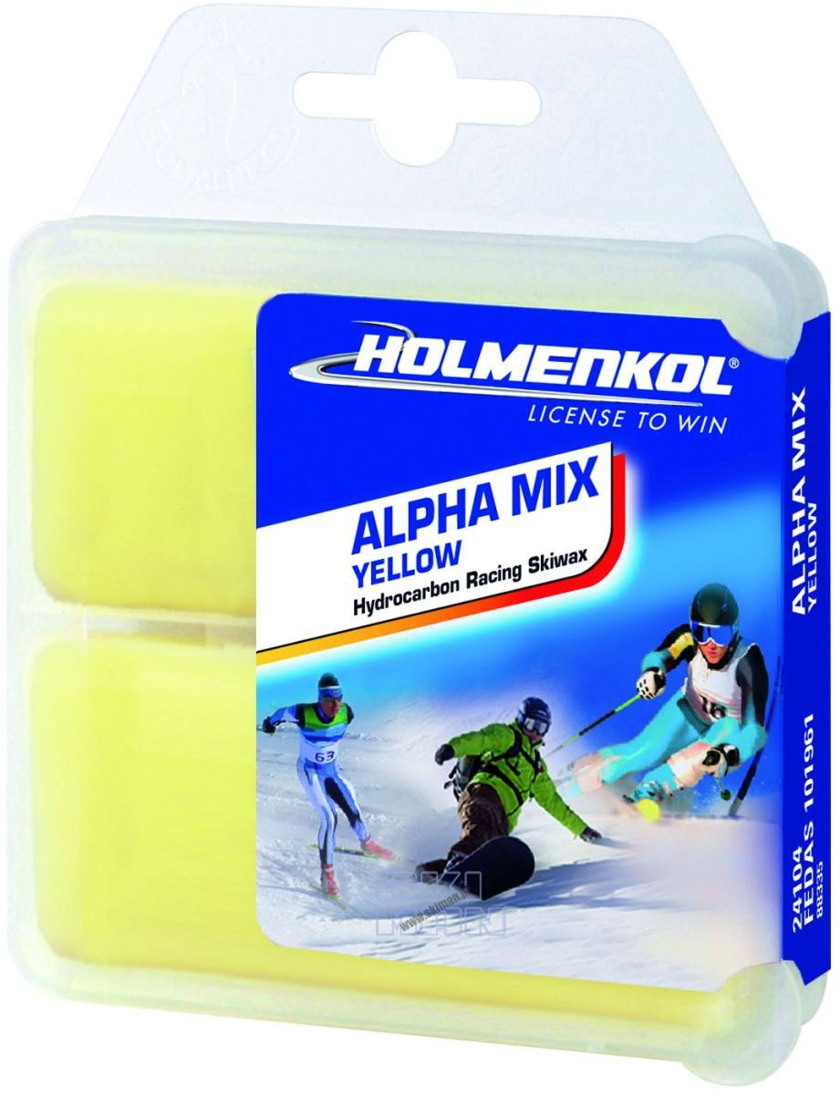 Smar Holmenkol Alpha Mix Yellow 2x35g