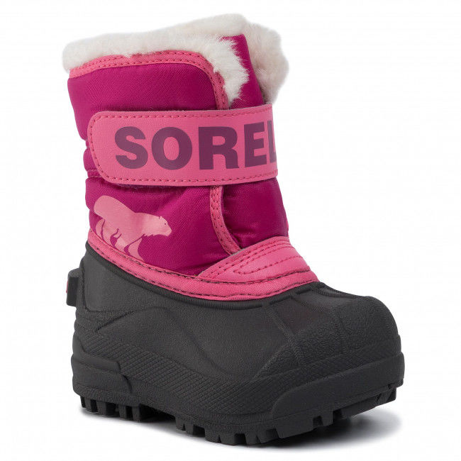 Śniegowce SOREL - Toodler Snow Commander NV1960 Tropic Pink/Deep Blush 652