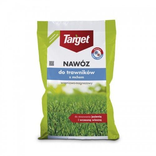 Nawóz do trawnika z mchem  wapniowo magnezowy  15 kg target