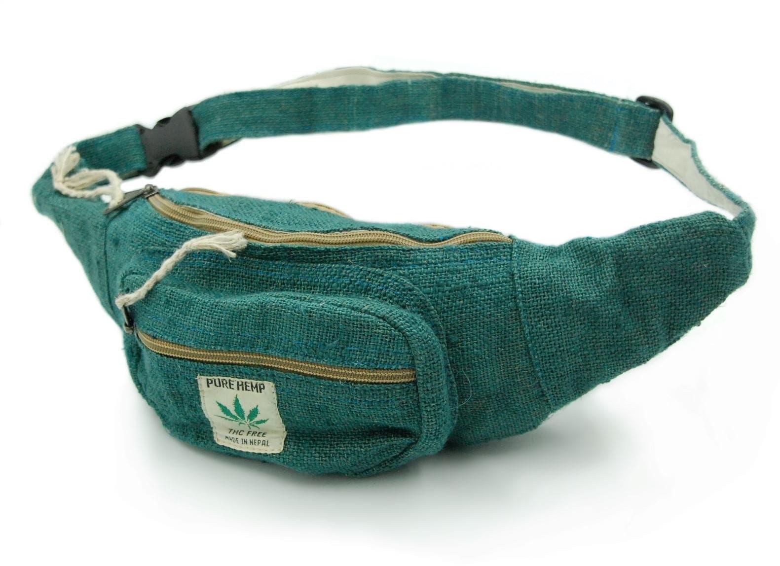 Saszetka na pas / nerka / biodrówka Emerald