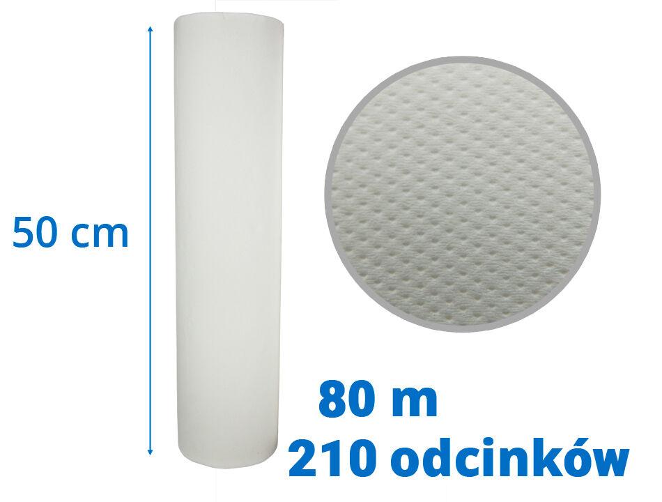 Celulozowy podkład higieniczny 50 cm x 80 m