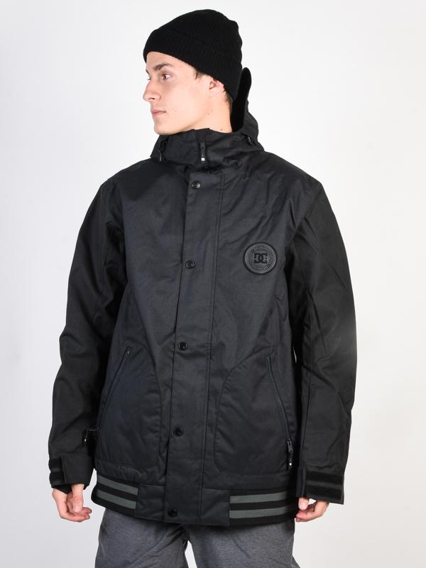 Dc DCLA SE WAXED BLACK mens kurtka zimowa - S
