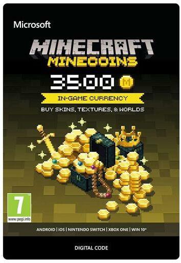 Minecraft - Minecoins 3500 monet Xbox One Dostęp po opłaceniu zakupu