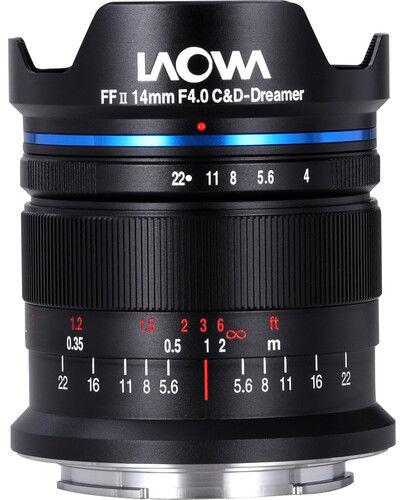 Laowa 14mm f4 FF RL Zero-D - obiektyw stałoogniskowy, Nikon Z