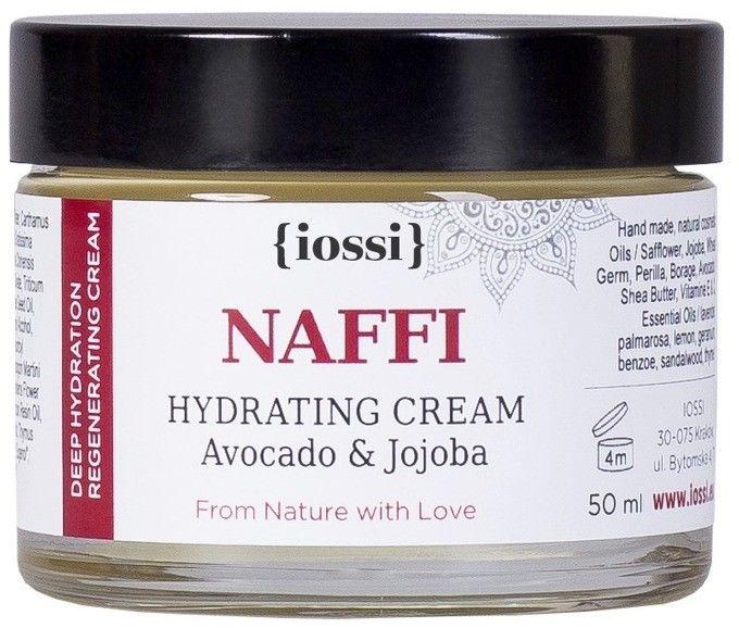 NAFFI nawilżający krem z olejem awokado & jojoba 50ml IOSSI