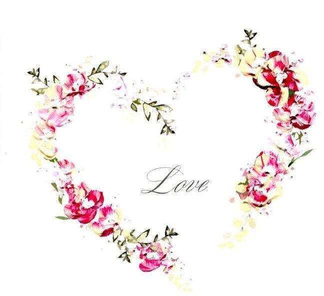 Karnet Walentynki Kwadrat A05 Love