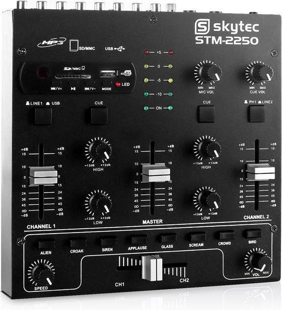 Skytec STM-2250 4-kanałowy mikser
