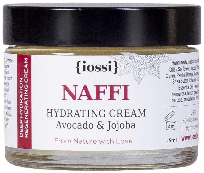 NAFFI Mini nawilżający krem z olejem awokado & jojoba 15ml IOSSI