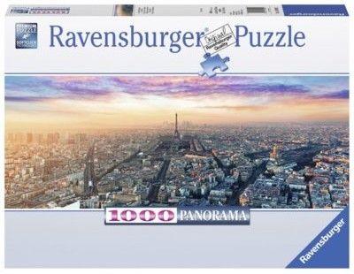 Puzzle Ravensburger 1000 - Paryż o świcie, Paris at dawn