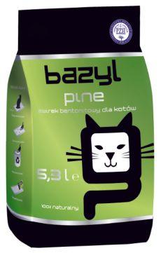 Bazyl Pine Żwirek Bentonitowy 5,3 l