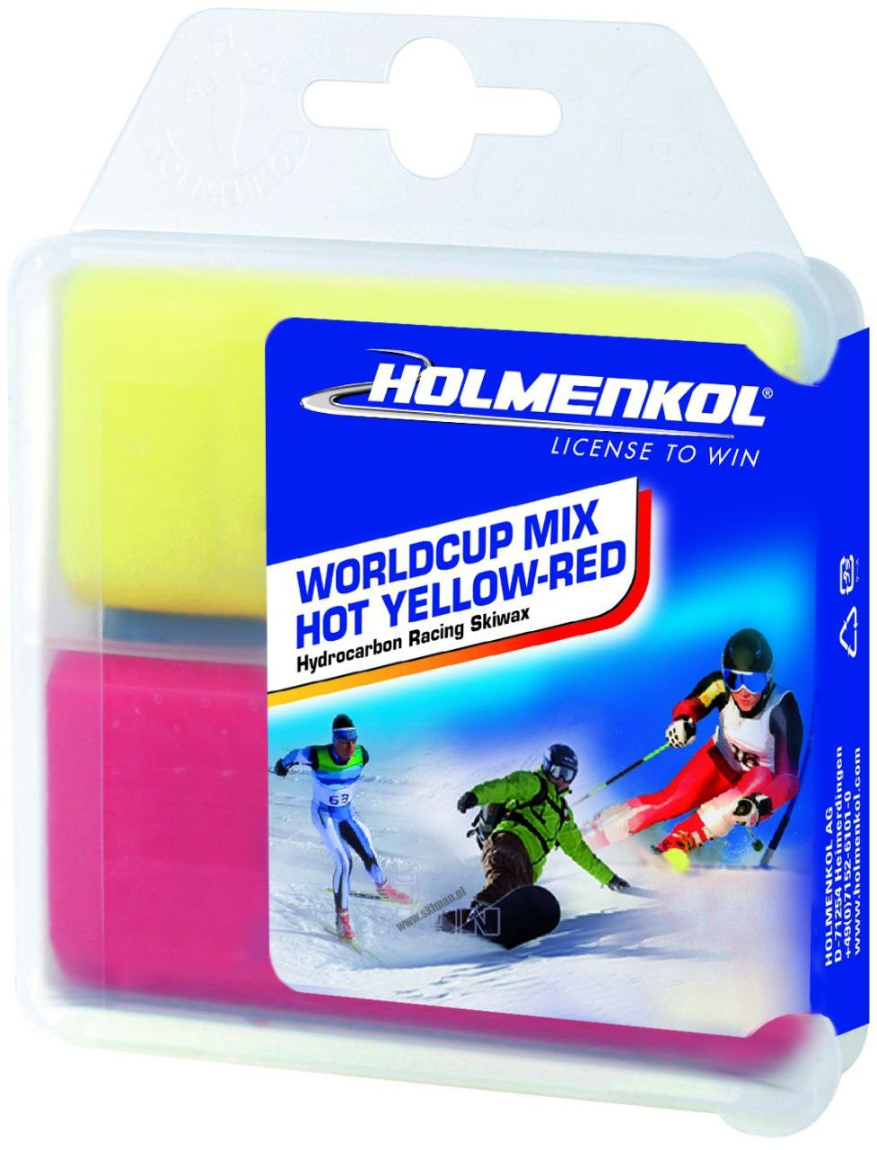 Smar Holmenkol World Cup Mix 2x35g