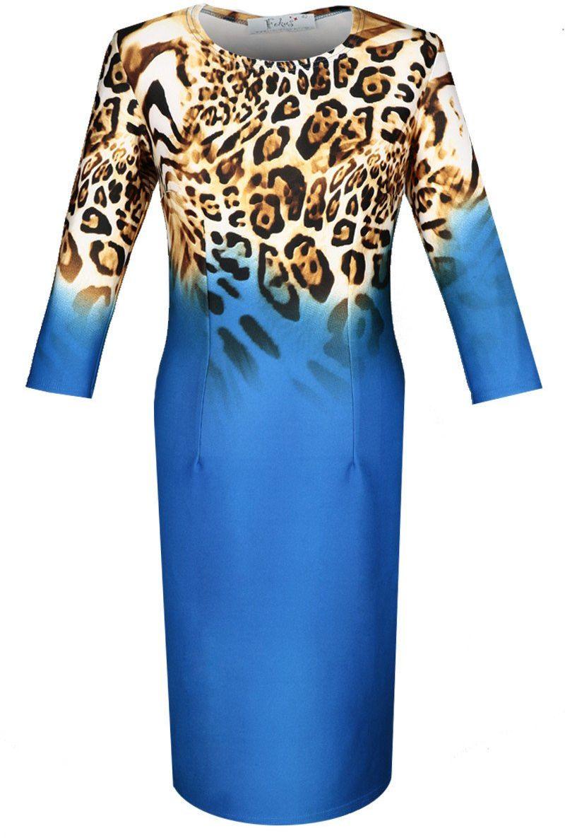 Sukienka FSU406 CHABROWY