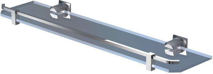 Półka do łazienki bez ramki (60 cm)