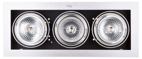 Oprawa downlight 3x50W G53 12V IP20 MATEO DLP-350-GR 04962