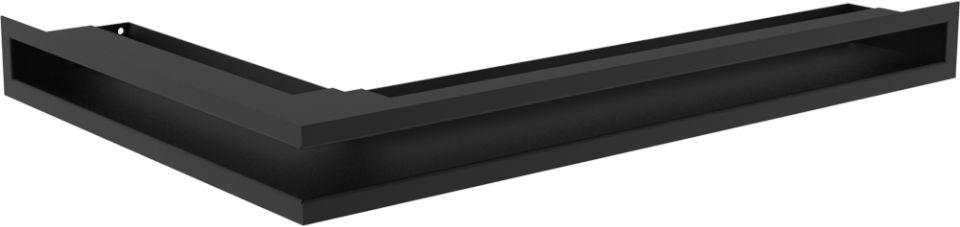 LUFT narożny prawy czarny 40x60x6