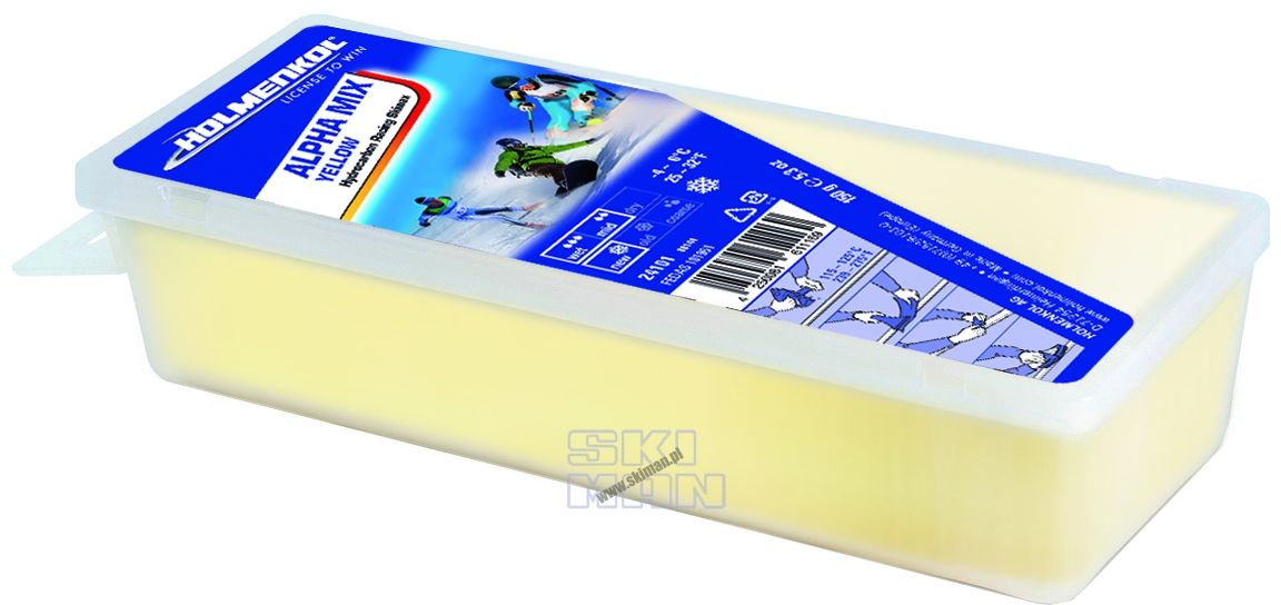Smar Holmenkol Alpha Mix Yellow 150g