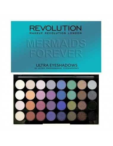 Makeup Revolution paleta 32 cieni Mermaids Forever