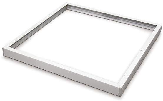 Natynkowa ramka do panelu LED 60x60 KLIK biała