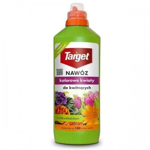 Płynny nawóz do kwitnących  kolorowe kwiaty  1 l target