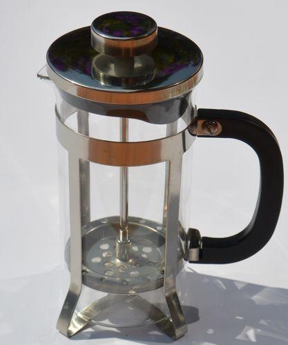 Zaparzacz do kawy i herbaty, srebrny, Ogniora, 600ml