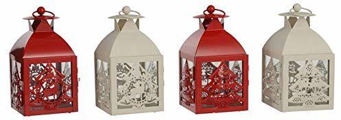 Edelman Latarnie, różne kolory, Boże Narodzenie, światła i dekoracje, wielokolorowe, 8718861617467