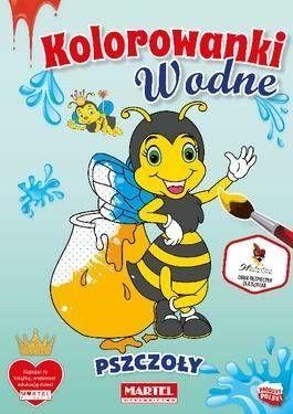 Kolorowanka wodna Pszczoły - praca zbiorowa