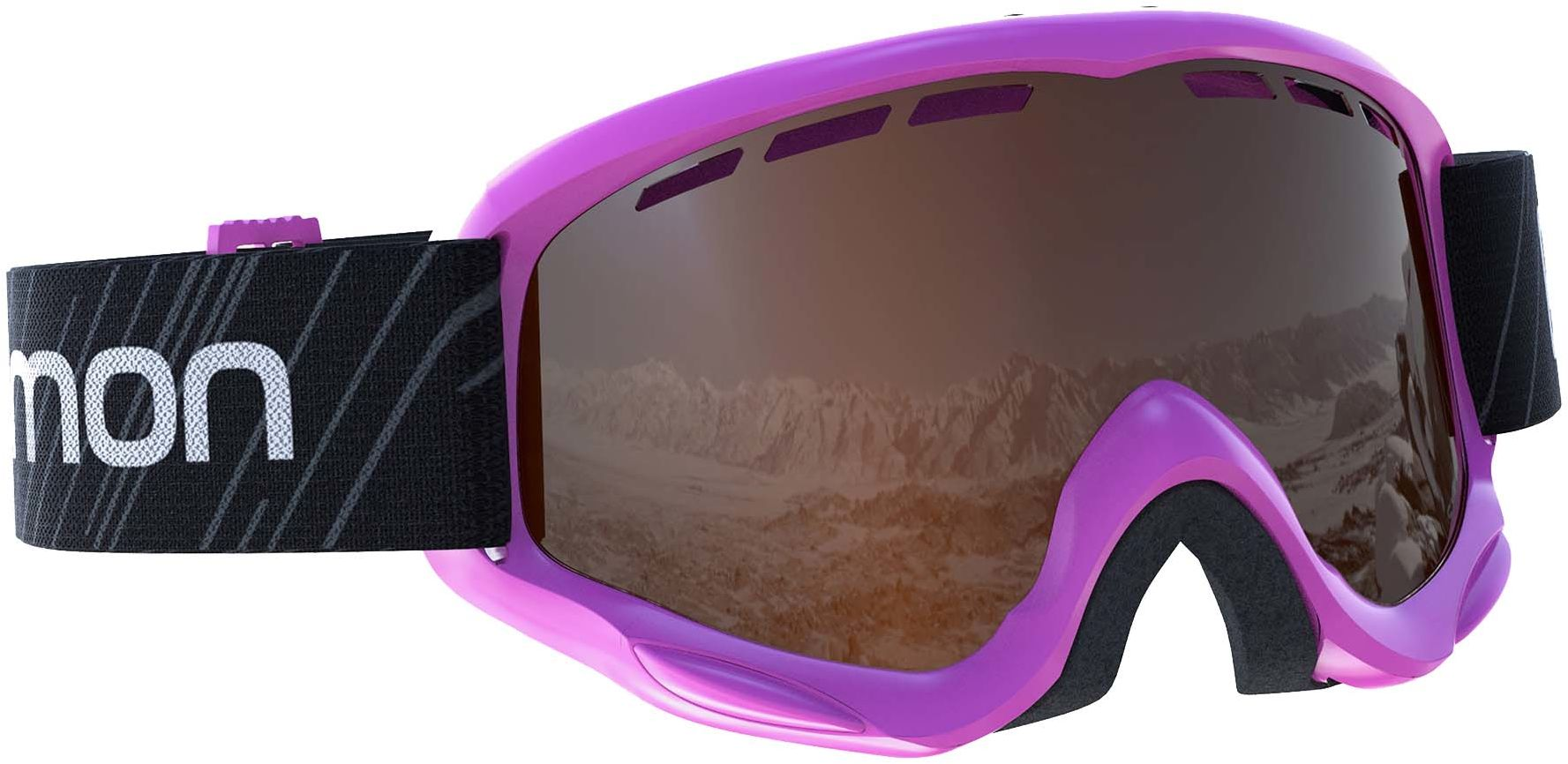 Gogle Salomon Juke Access Pink