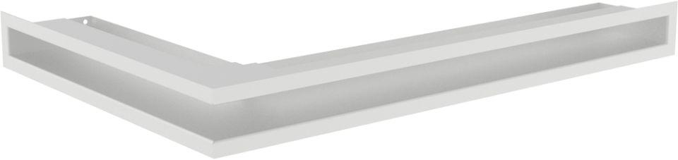 LUFT narożny prawy biały 40x60x6