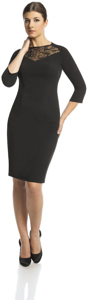 Sukienki Sukienka Suknie FSU405 CZARNY