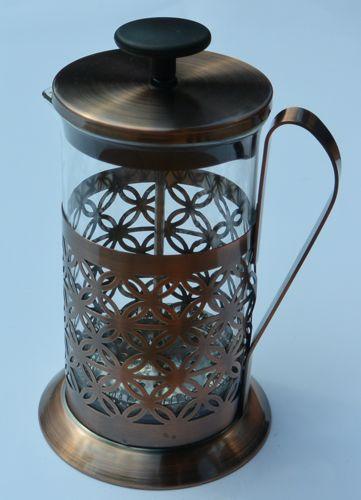 Zaparzacz do kawy lub herbaty, miedziany, Ogniora 600ml