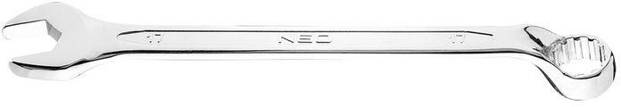 Klucz płasko-oczkowy odgięty spline 17 mm 09-467