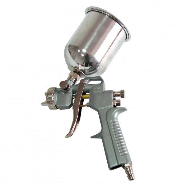 66245 Pistolet lakierniczy 1/4 cala ze zbiornikiem górnym, Mega