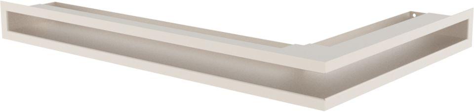 LUFT narożny lewy kremowy 60x40x6