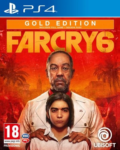 Far Cry 6 Gold Edition PS 4