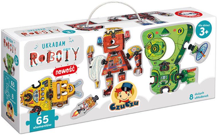 Puzzle CzuCzu - Układam Roboty