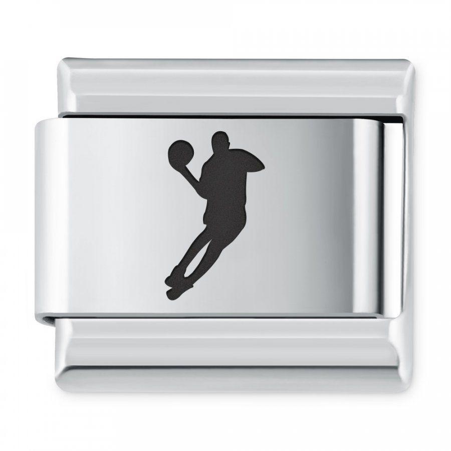 ITALIAN CHARMS Symbole Sportowe Koszykówka