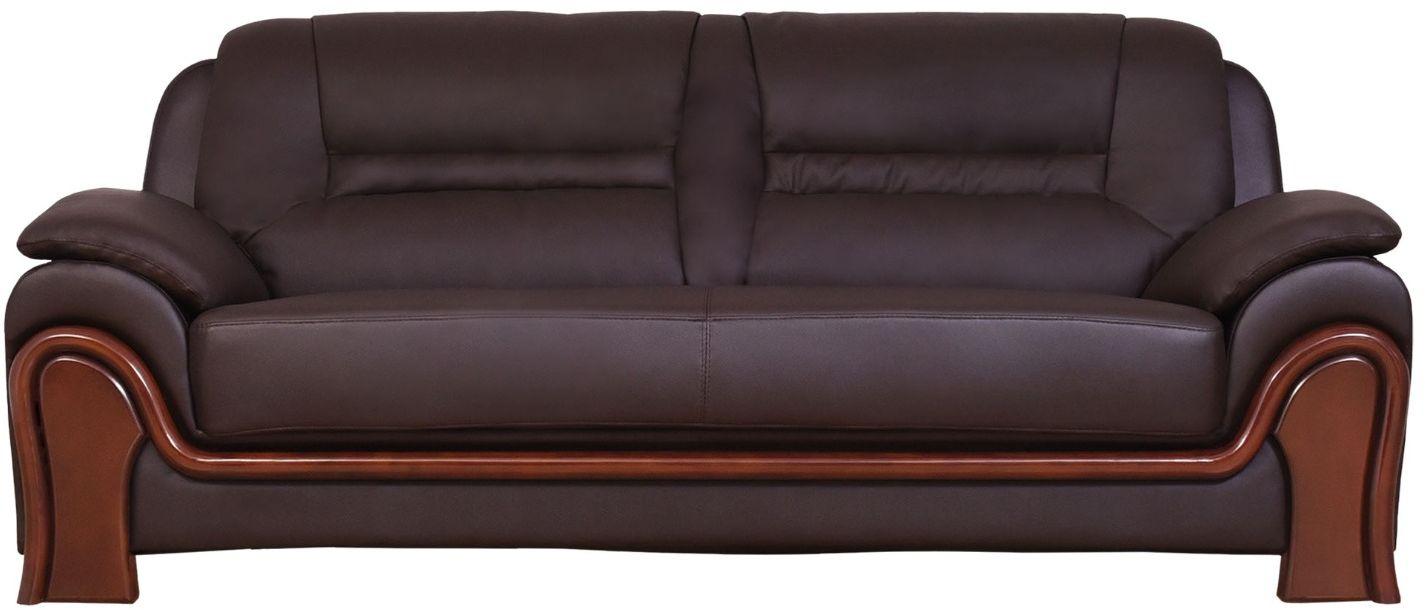 Sofa 3-osobowa PALLADIO brązowy