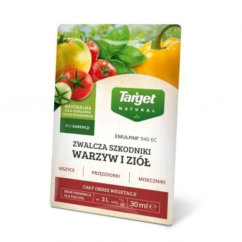 Emulpar 940 ec  zwalcza szkodniki warzyw  30 ml target