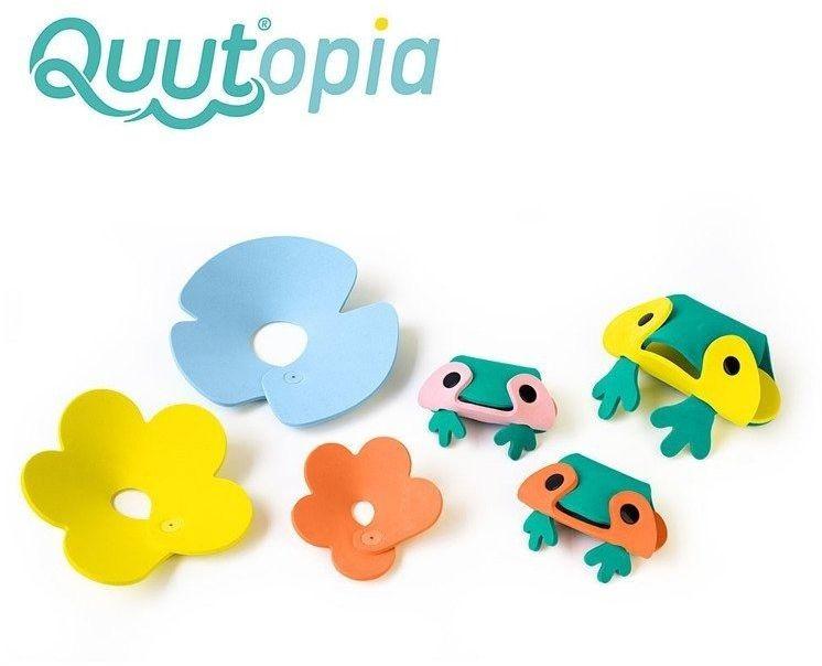 Quut zestaw puzzli piankowych 3d quutopia żabki