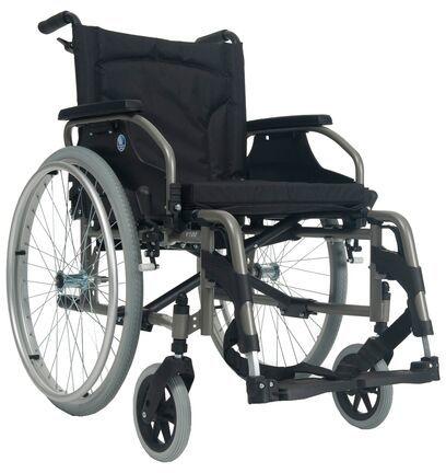 Wózek inwalidzki ręczny Vermeiren V100 XXL - Dla osób o podwyższonej wadze