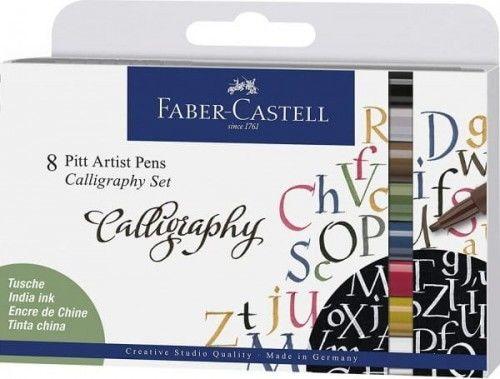 Zestaw do Kaligrafii Pitt Calligraphy 8 Kolorów