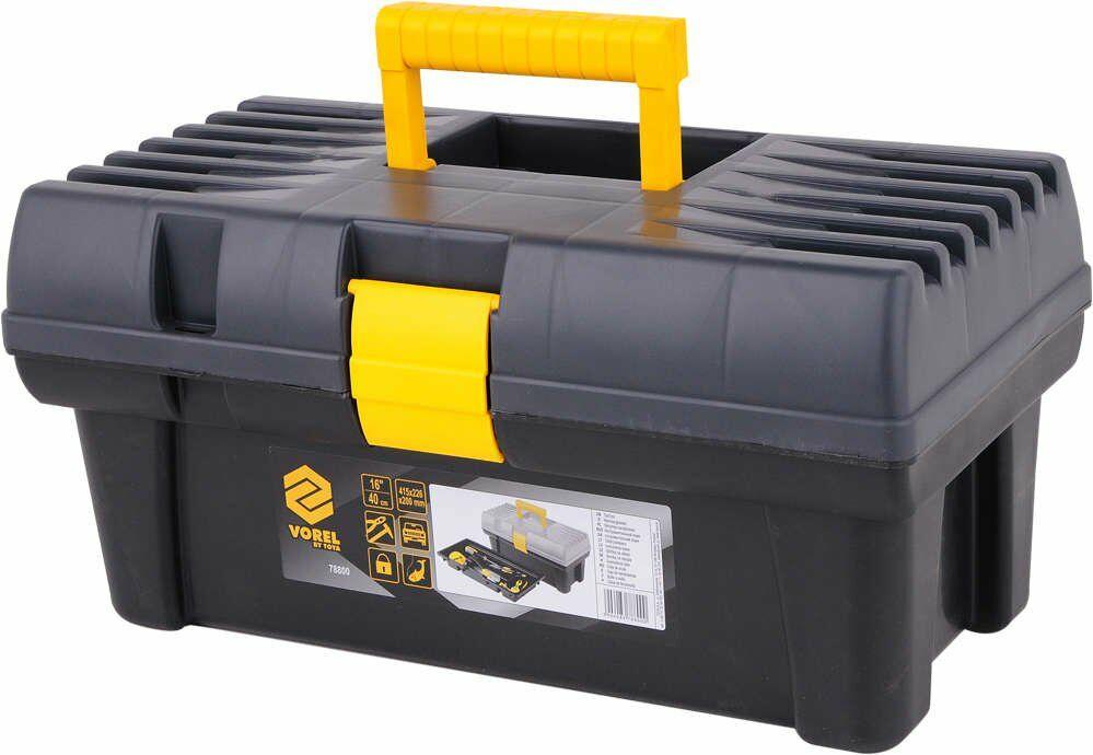 """Skrzynka narzędziowa plastikowa 16"""" Vorel 78800 - ZYSKAJ RABAT 30 ZŁ"""