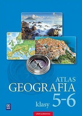 Atlas Geografia. Szkoła podstawowa klasa 5-6
