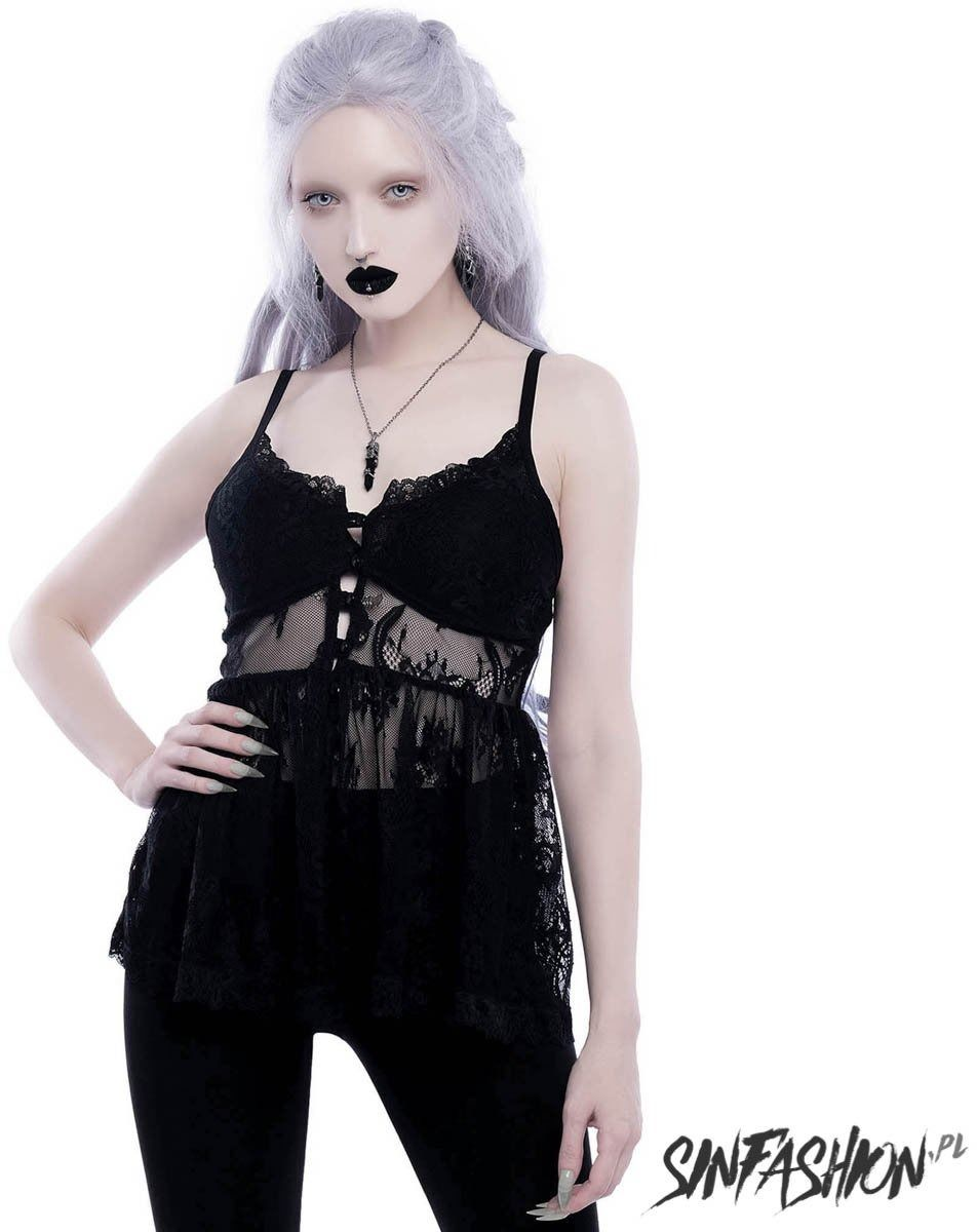 Top killstar in to ashes lace top