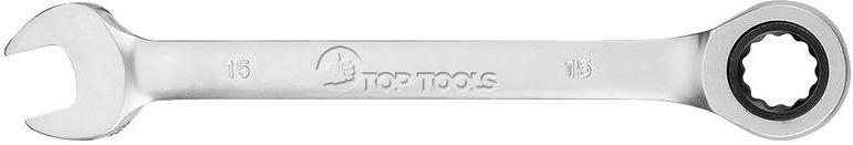 Klucz płasko-oczkowy z grzechotką 15 mm 35D737
