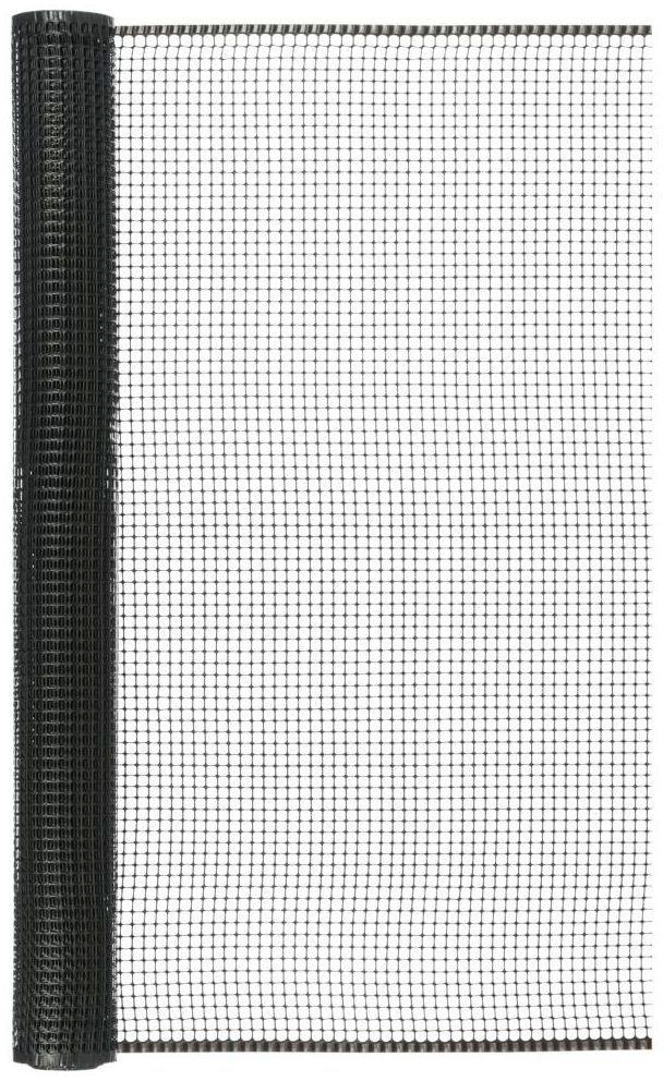 Siatka plastikowa 1 x 5 m antracytowa SQUARE NORTENE