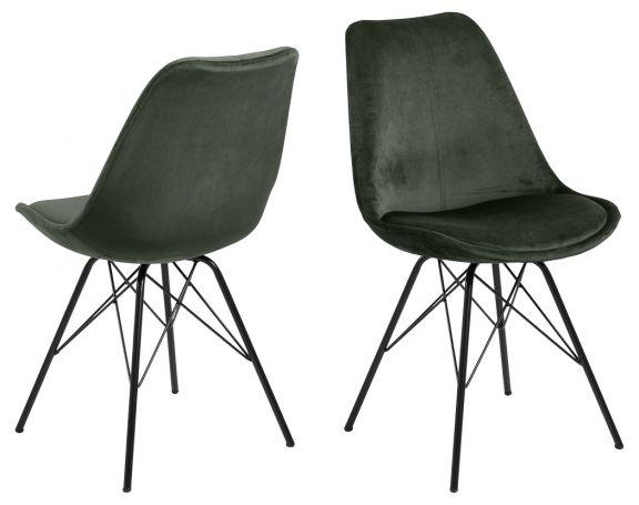 Krzesło Eris - zielone